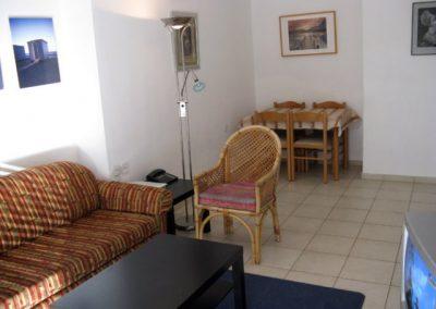 12 Shamai St - option 1 - Living room and dining area
