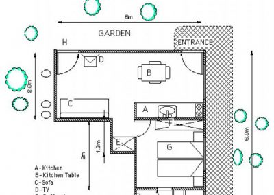 Mishpat Dreifuss - Metric floor plan