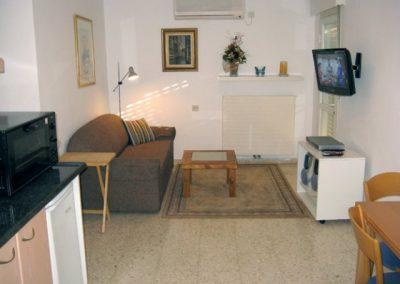 Mishpat Dreifuss St - Living room